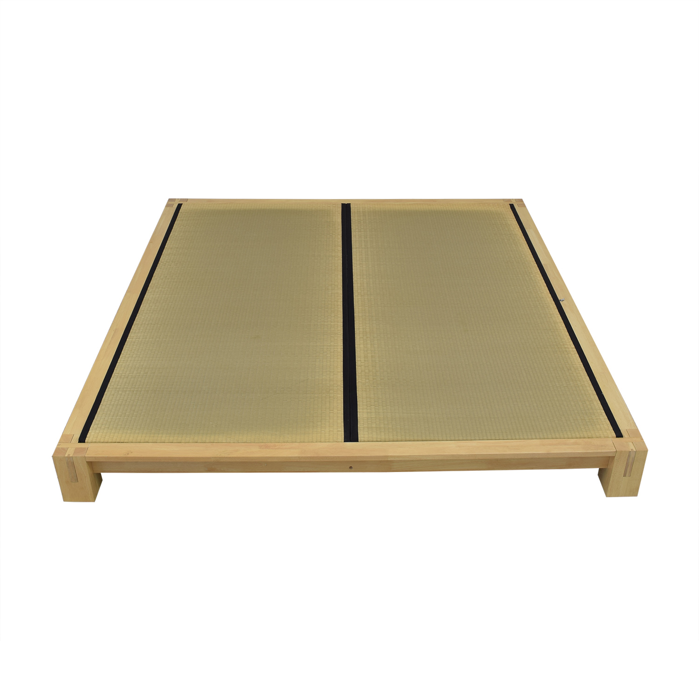 ABC Carpet & Home ABC Carpet & Home Japanese King Platform Bed Beds