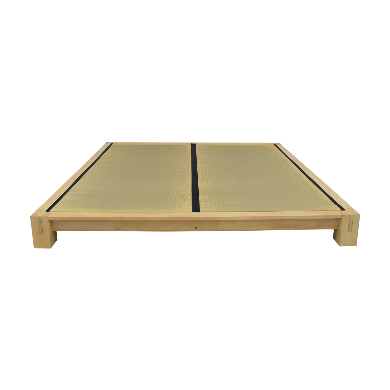 ABC Carpet & Home ABC Carpet & Home Japanese King Platform Bed