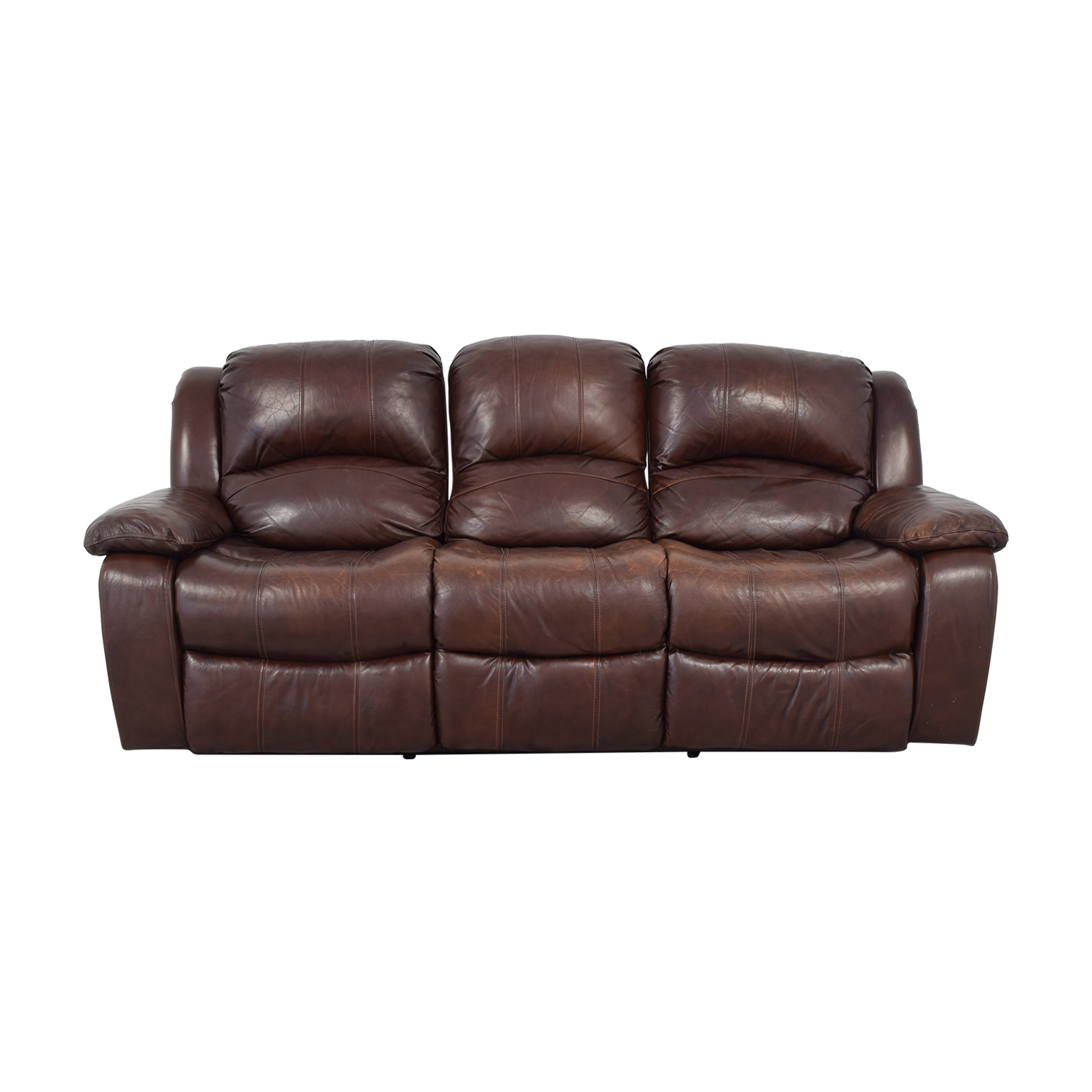 Raymour & Flanigan Raymour & Flanigan Reclining Sofa coupon