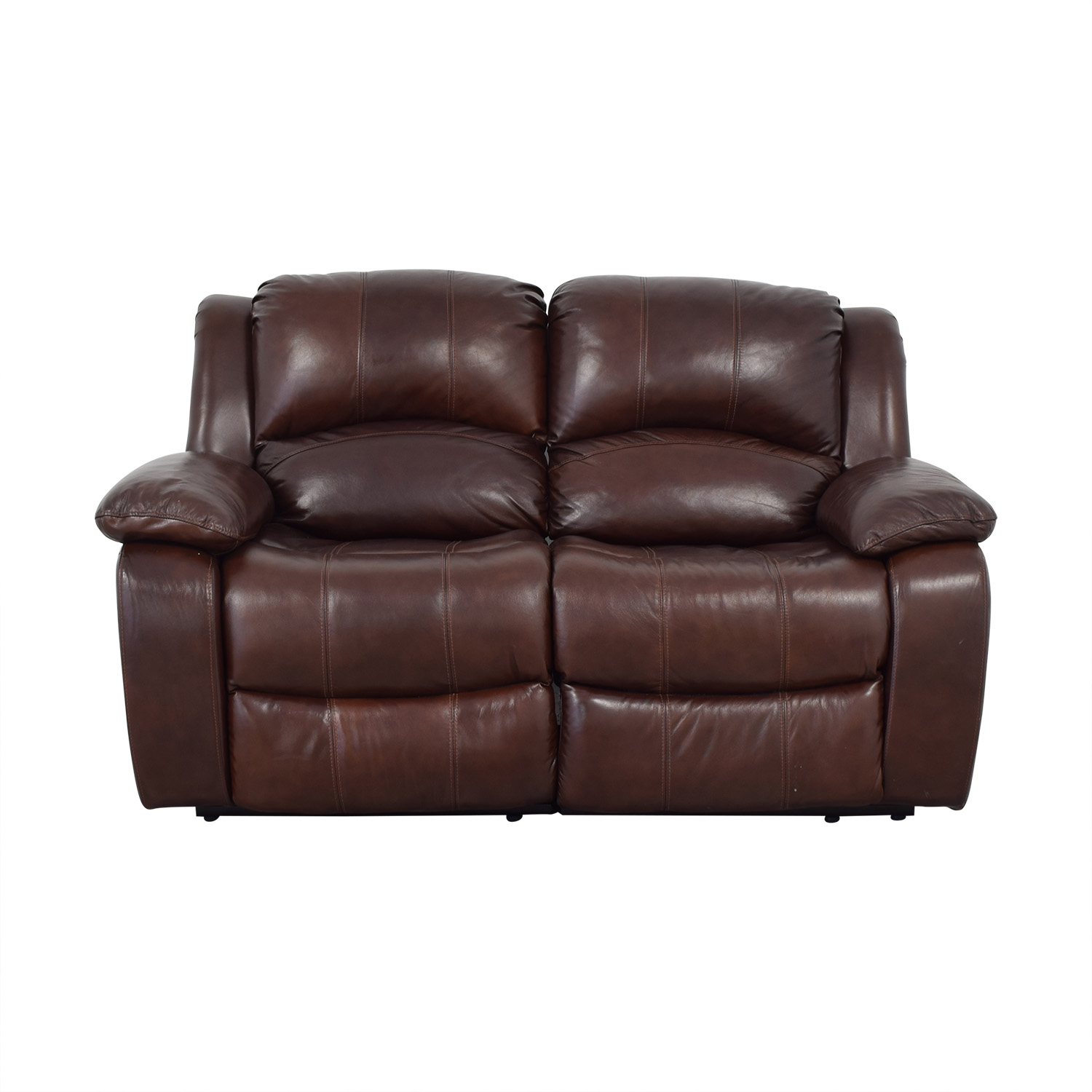 Raymour & Flanigan Raymour & Flanigan Dual Reclining Loveseat second hand