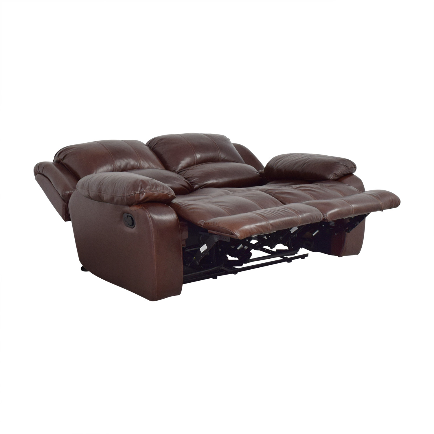 shop Raymour & Flanigan Raymour & Flanigan Dual Reclining Loveseat online