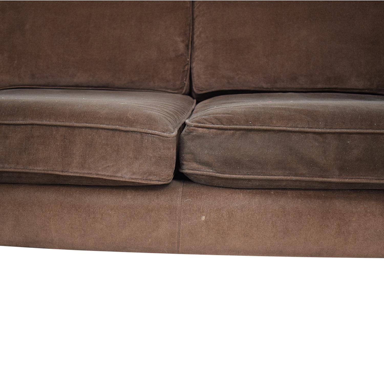 shop Crate & Barrel Crate & Barrel Rochelle Mid Century Modern  Sofa online