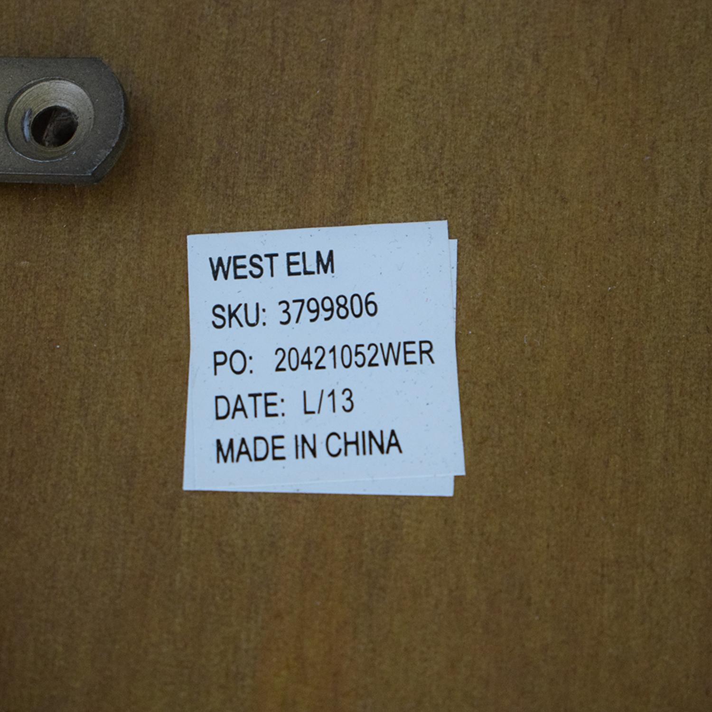 West Elm West Elm Mid Century Nook Console light brown
