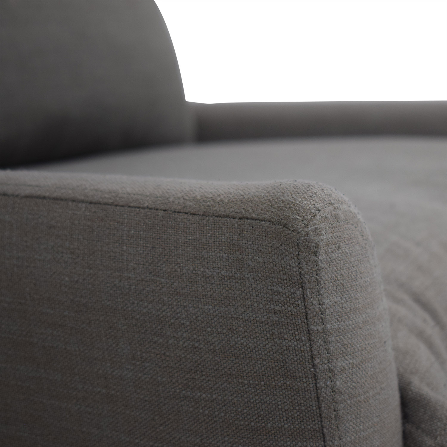 West Elm West Elm Gray Bliss Down Filled Chair and a Half coupon