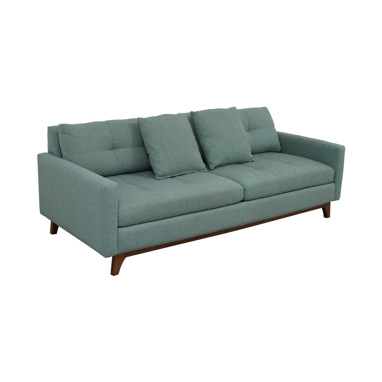 Brilliant 52 Off Macys Macys Nari Tufted Estate Sofa Sofas Theyellowbook Wood Chair Design Ideas Theyellowbookinfo