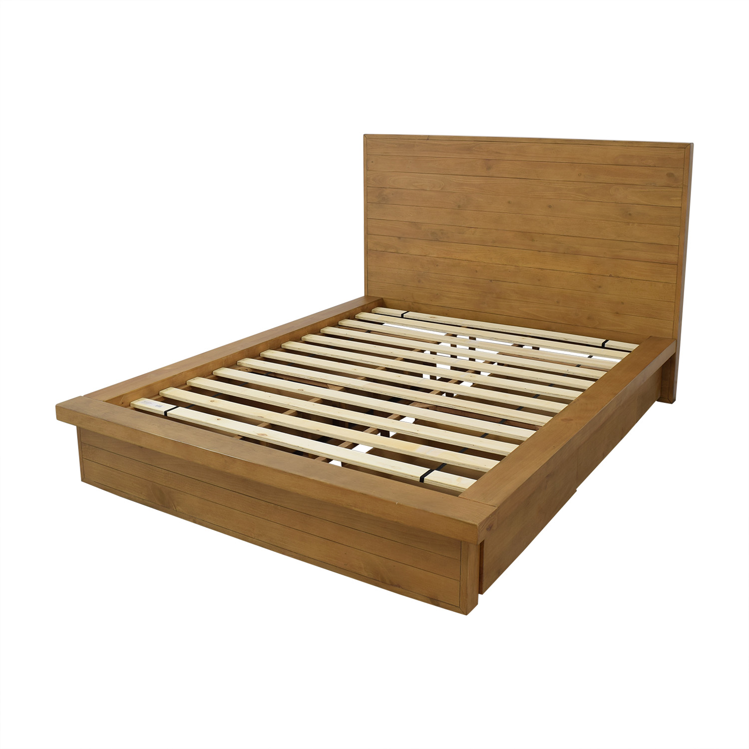 shop Macy's Macy's Albine Wood Storage Queen Platform Bed online