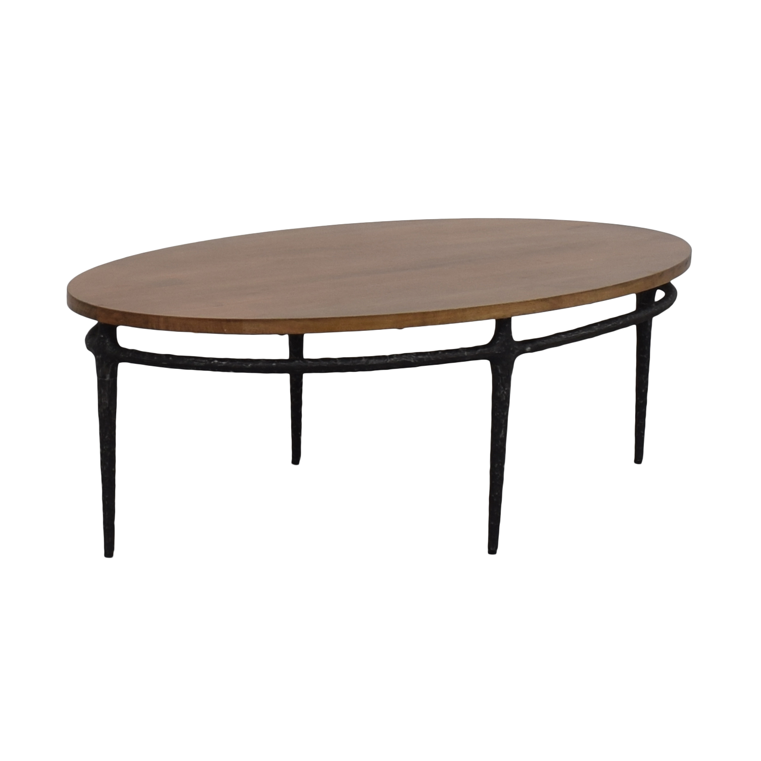 West Elm West Elm Cast Base Coffee Table Coffee Tables