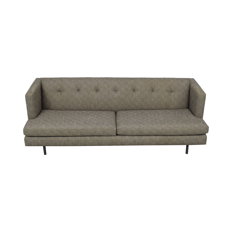CB2 CB2 Avec Tufted Sofa on sale