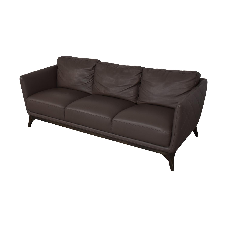 Macy's Macy's Mid Century Sofa grey