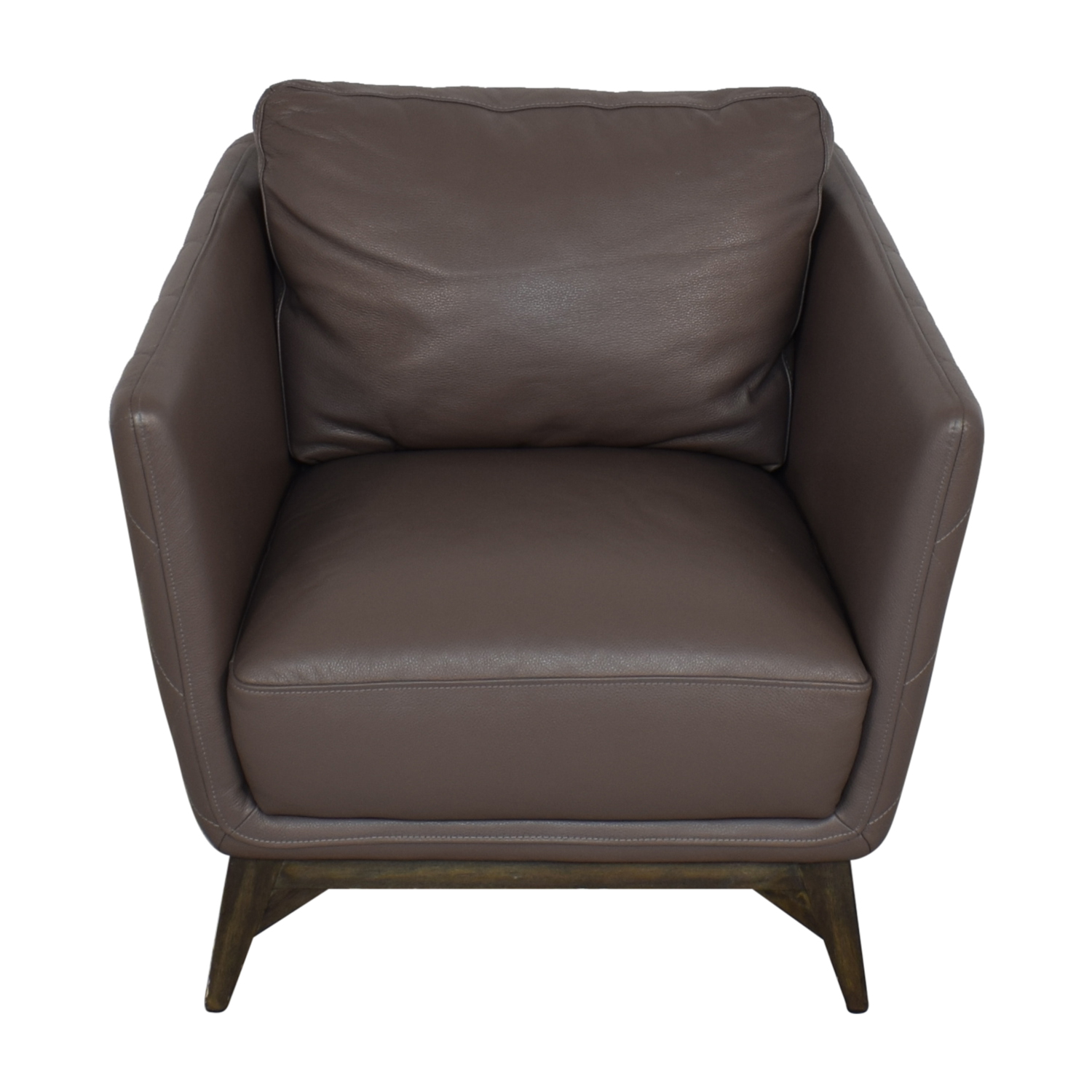 Macy's Leather Chair sale