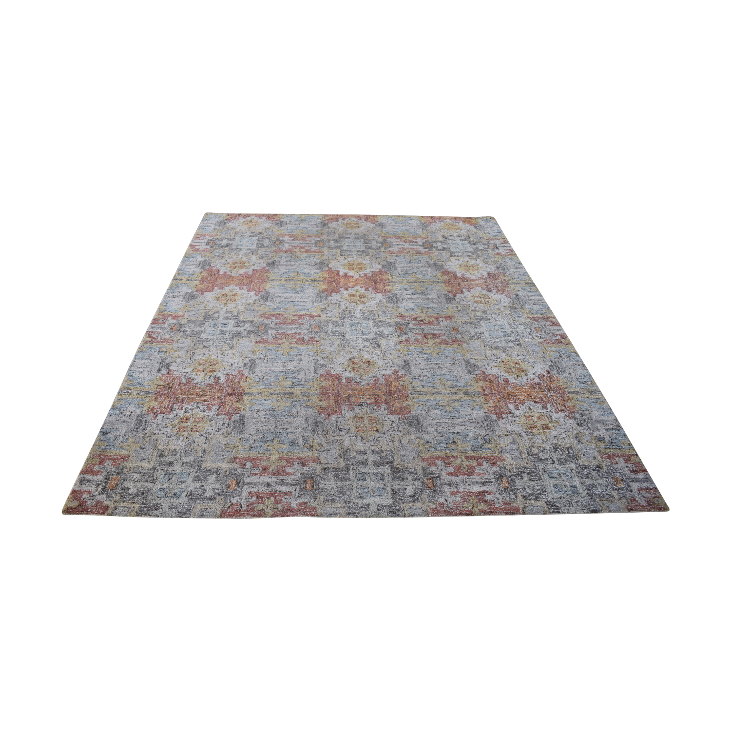 shop Crate & Barrel Alvarez Garden Hand Tufted Rug Crate & Barrel Rugs