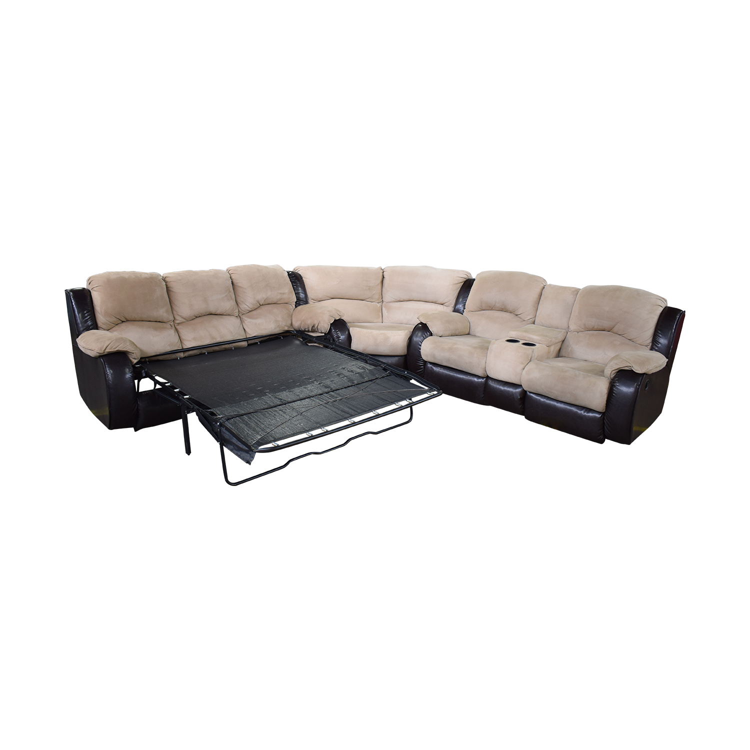 buy Southern Motion Reclining Sectional Sleeper Sofa Southern Motion