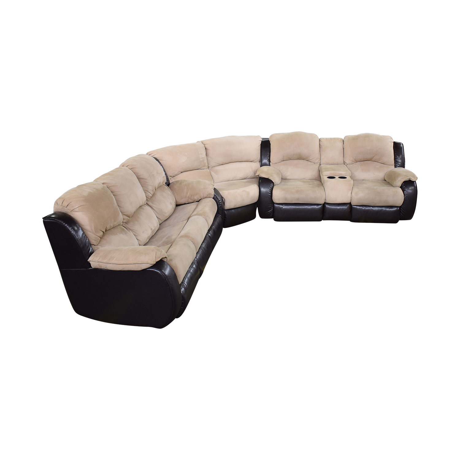 Southern Motion Reclining Sectional Sleeper Sofa sale