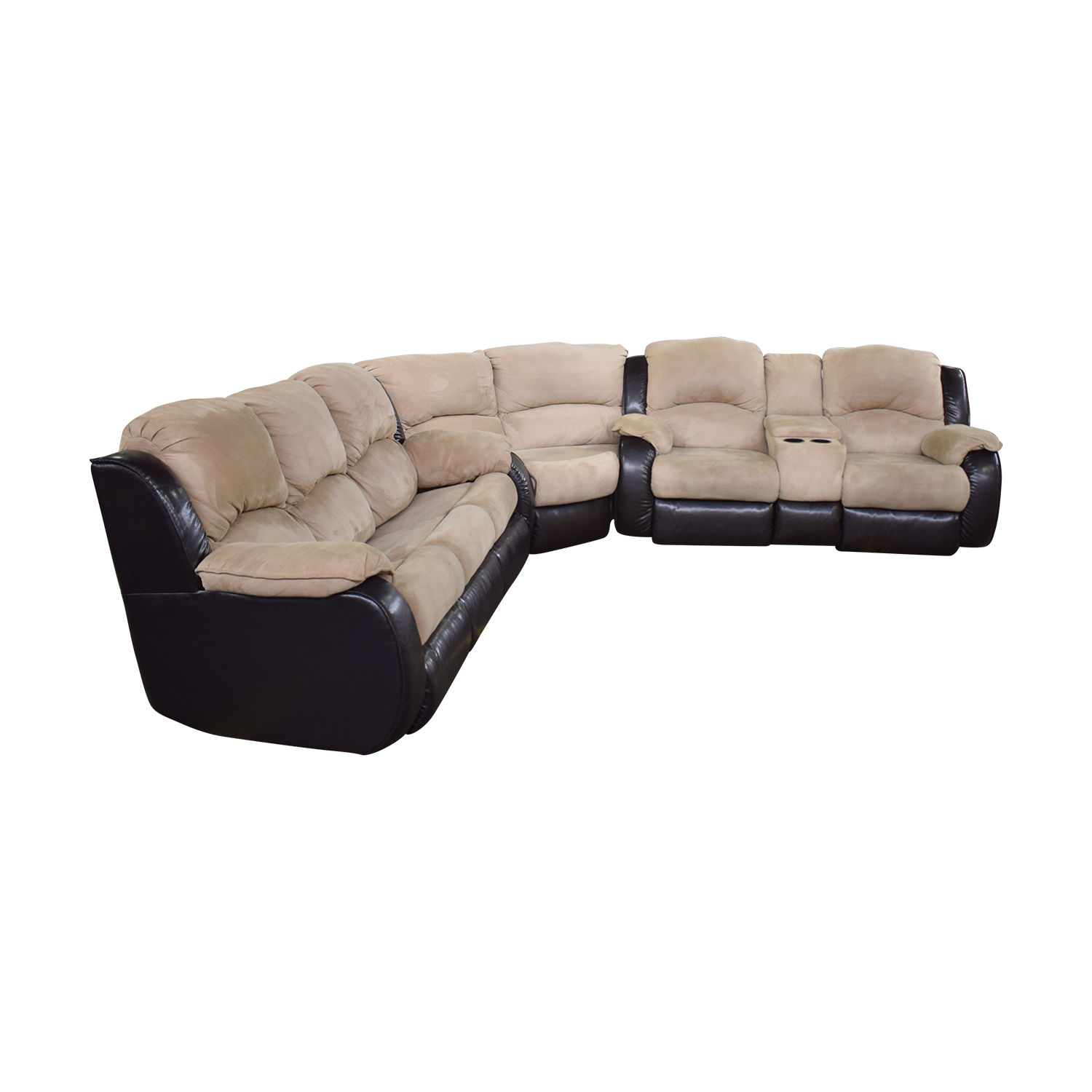 Southern Motion Southern Motion Reclining Sectional Sleeper Sofa