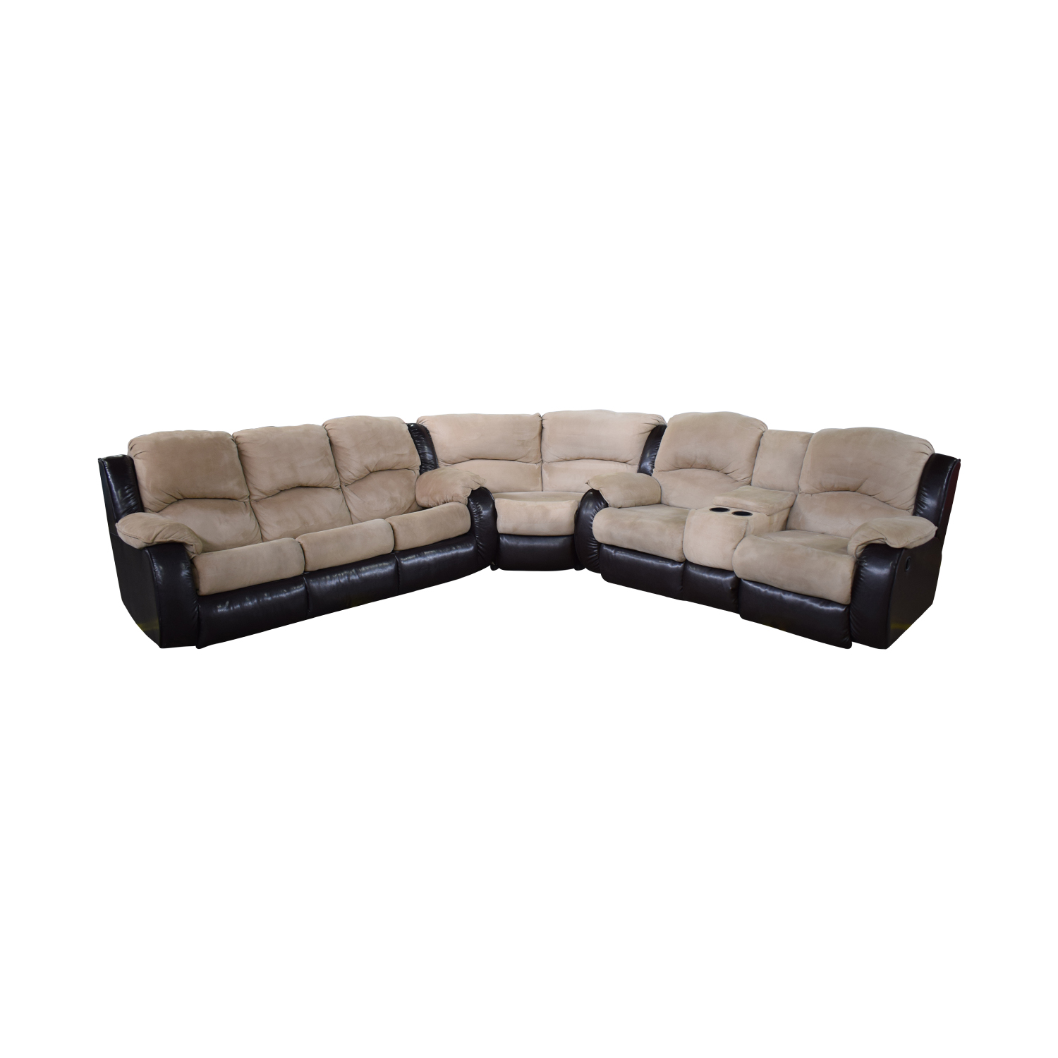 shop Southern Motion Reclining Sectional Sleeper Sofa Southern Motion Sectionals