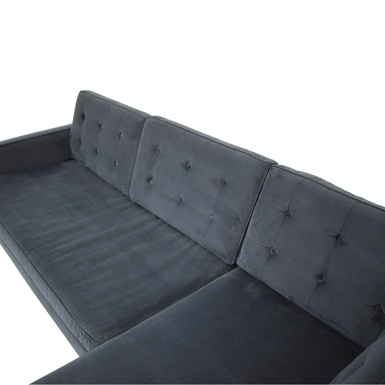 buy West Elm Drake Mid-Century Sofa West Elm
