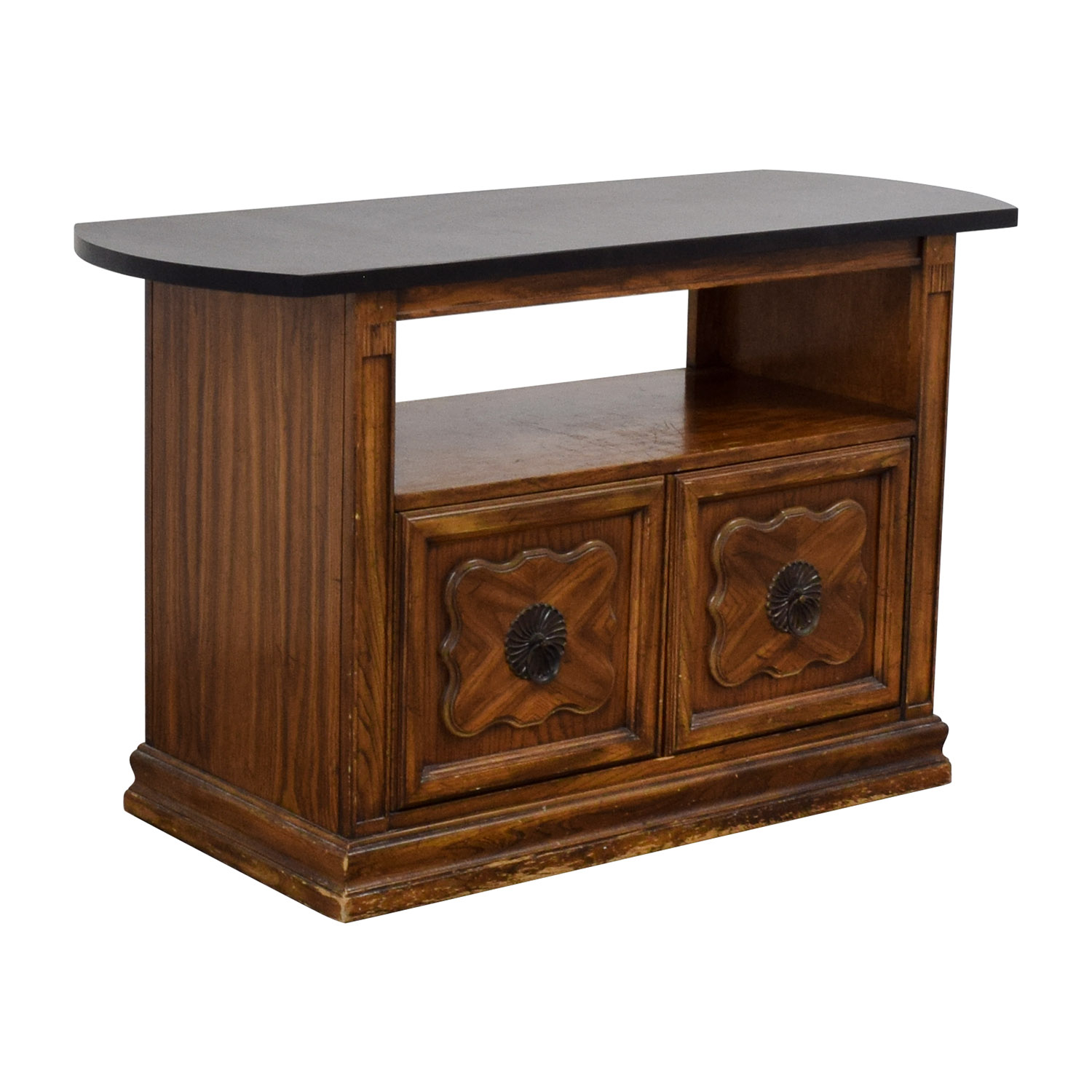 Open Shelf Bar Cabinet price