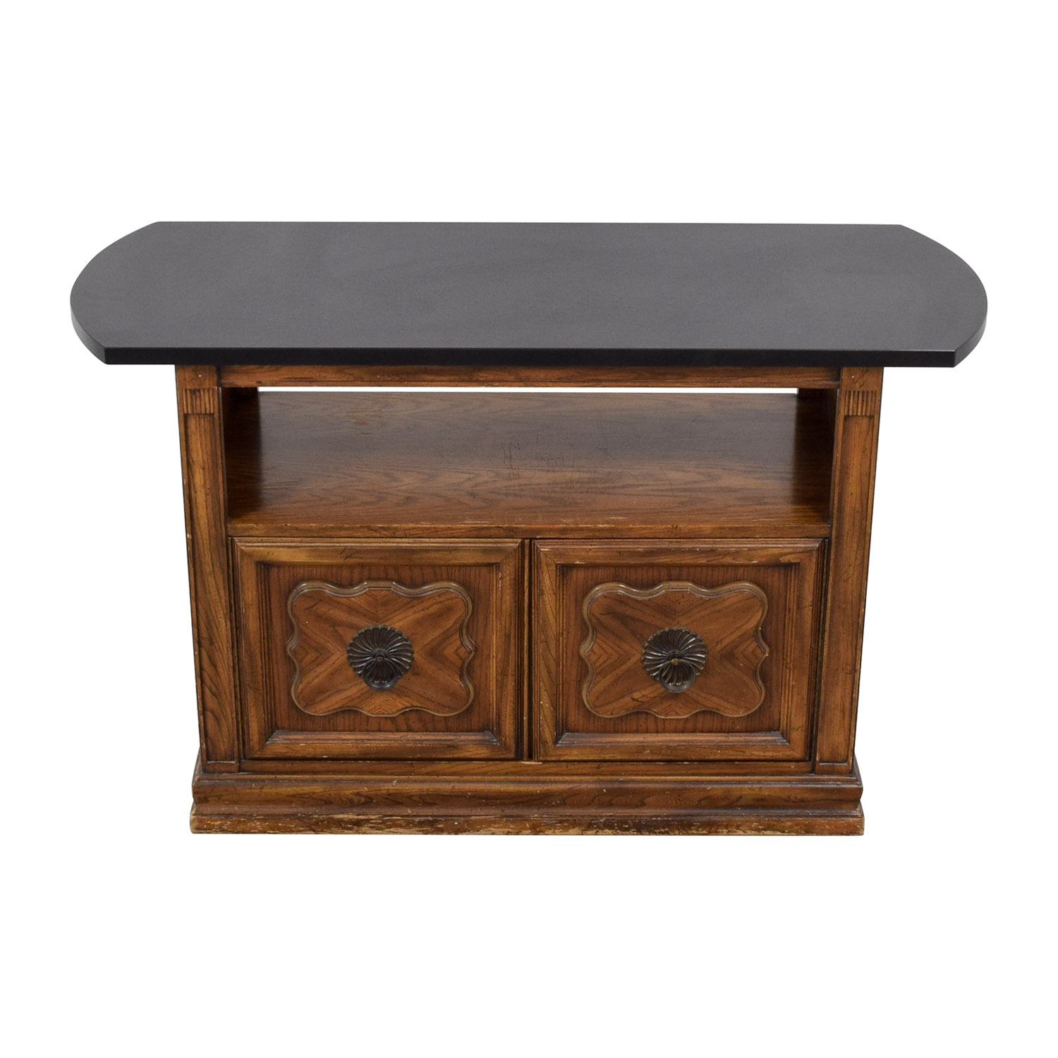 buy Open Shelf Bar Cabinet  Cabinets & Sideboards