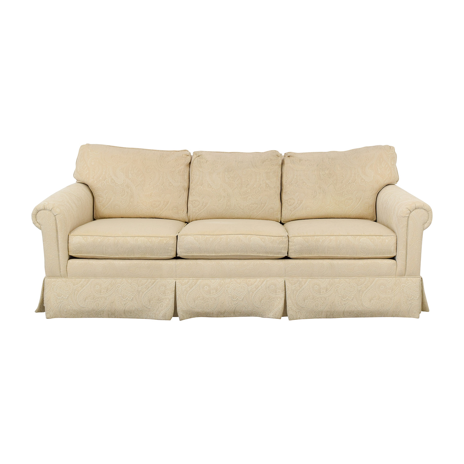 Ethan Allen Ethan Allen Slipcovered Sofa on sale