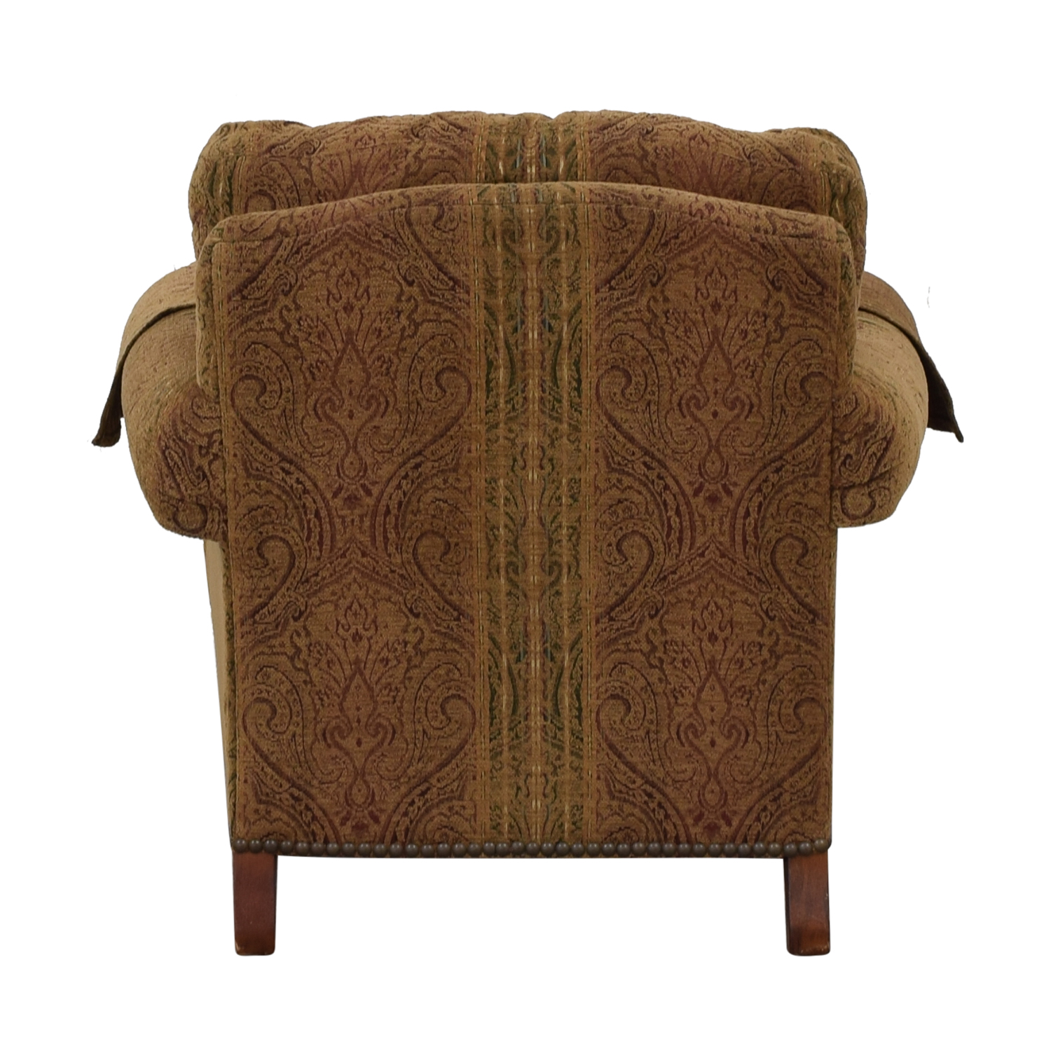 buy Lillian August Upholstered Chair with Ottoman Lillian August