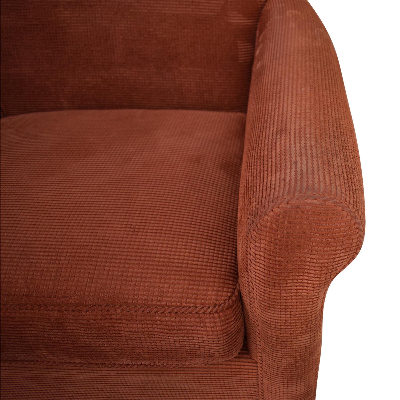 shop Crate & Barrel Three Cushion Sofa Crate & Barrel