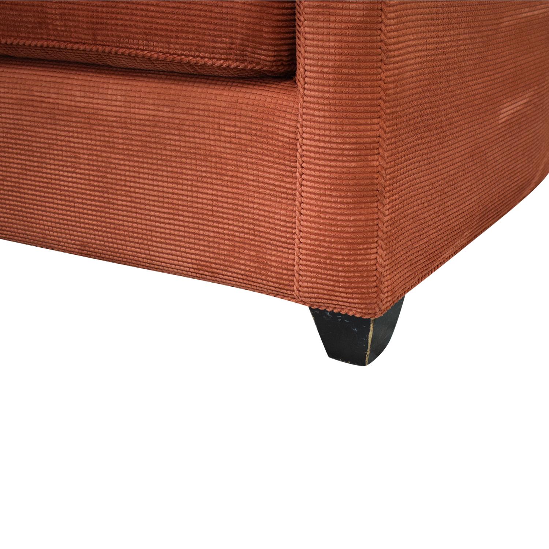 buy Crate & Barrel Three Cushion Sofa Crate & Barrel Sofas