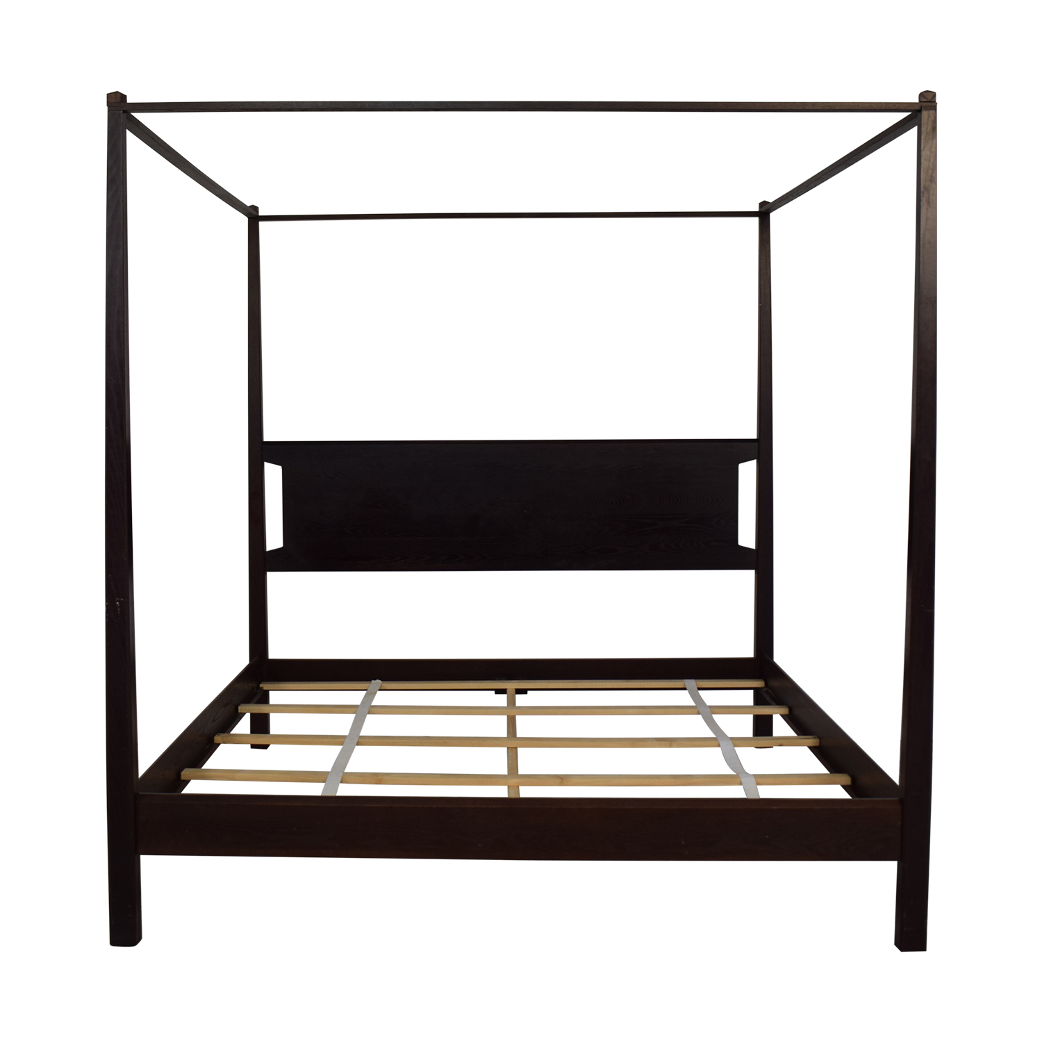 Bloomingdale's Bloomingdale's Canopy King Size Bed with Headboard used