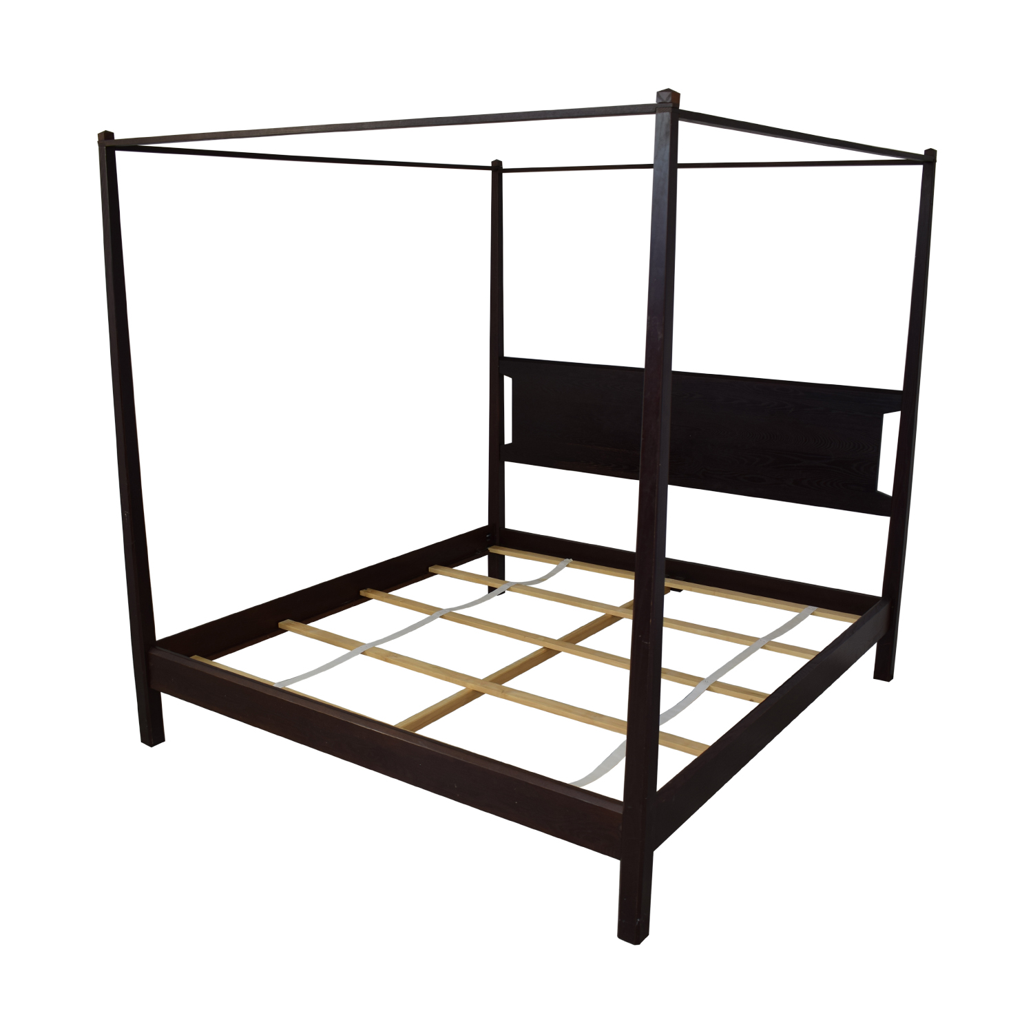 Bloomingdale's Bloomingdale's Canopy King Size Bed with Headboard for sale