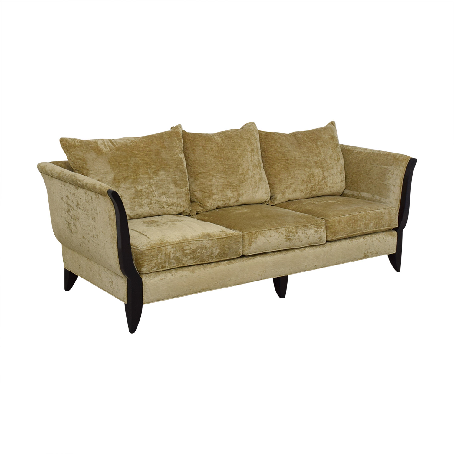 Fabulous 81 Off Swaim Swaim Cabriole Sofa Sofas Ncnpc Chair Design For Home Ncnpcorg