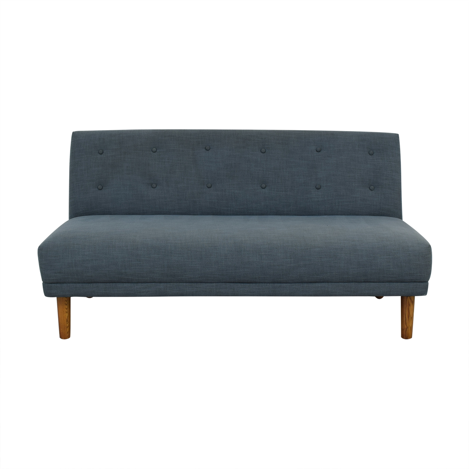 buy West Elm Retro Armless Sofa West Elm Sofas