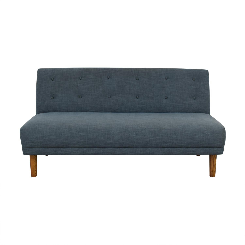West Elm Retro Armless Sofa / Sofas