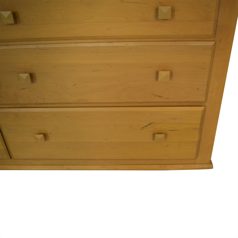Ethan Allen Ethan Allen Six-Drawer Dresser with Mirror discount