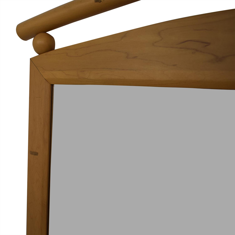 Ethan Allen Ethan Allen Six-Drawer Dresser with Mirror Beige