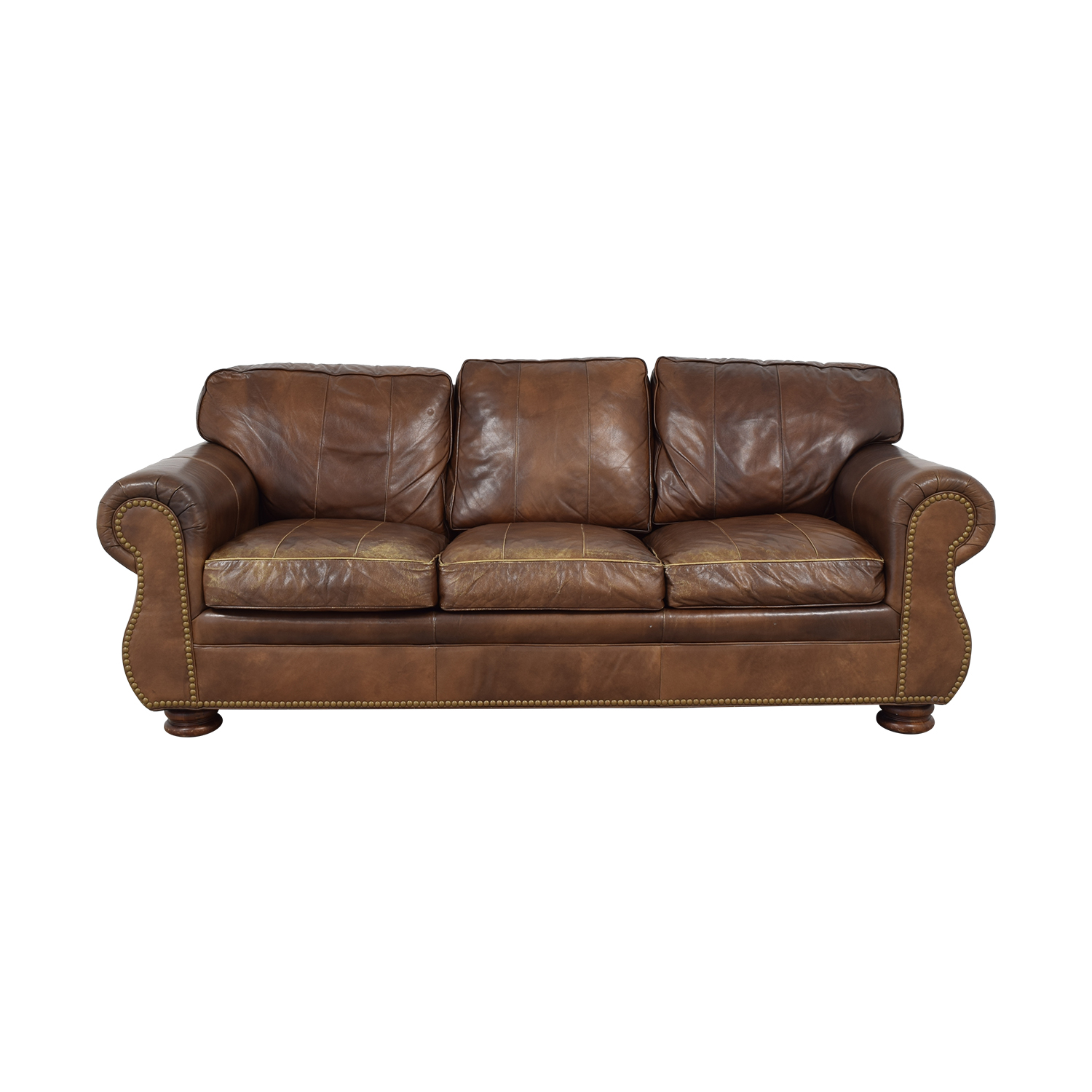 buy Hancock and Moore Nailhead Sofa Hancock and Moore