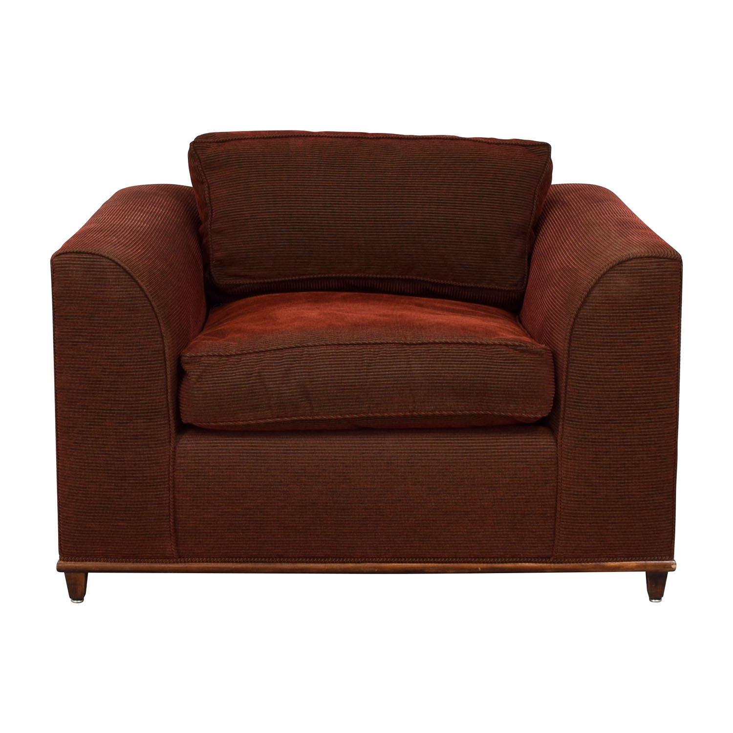 Overstuffed Red Chair coupon