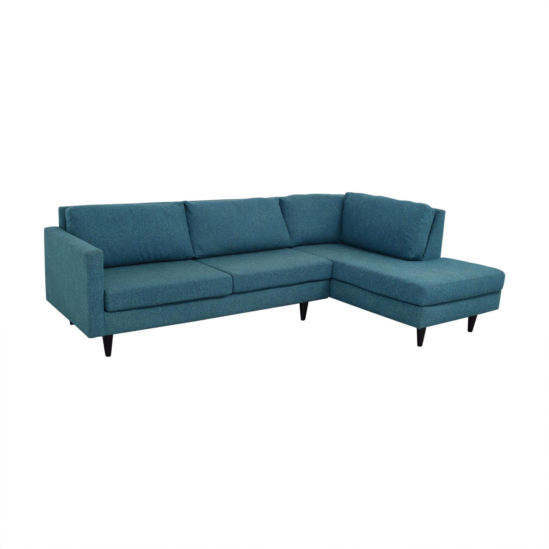 buy Apt2B Virgil Sectional Sofa Apt2B Sectionals