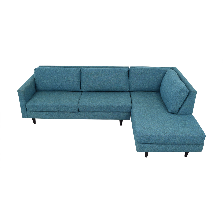 48% OFF - Apt2B Apt2B Virgil Sectional Sofa / Sofas