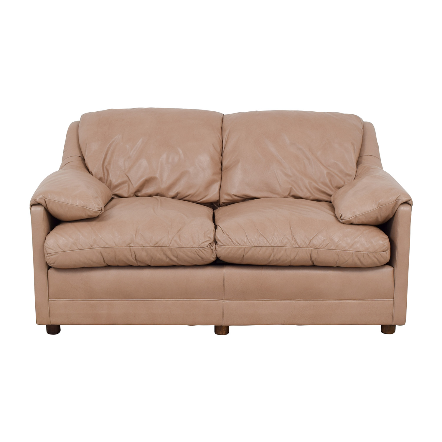 878130db3f0 66% OFF - Hancock and Moore Hancock and Moore Leather Two Seat Love Seat /  Sofas