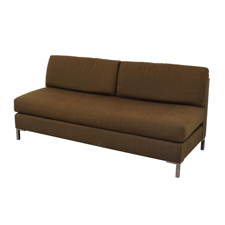 West Elm West Elm Armless Sofa Classic Sofas