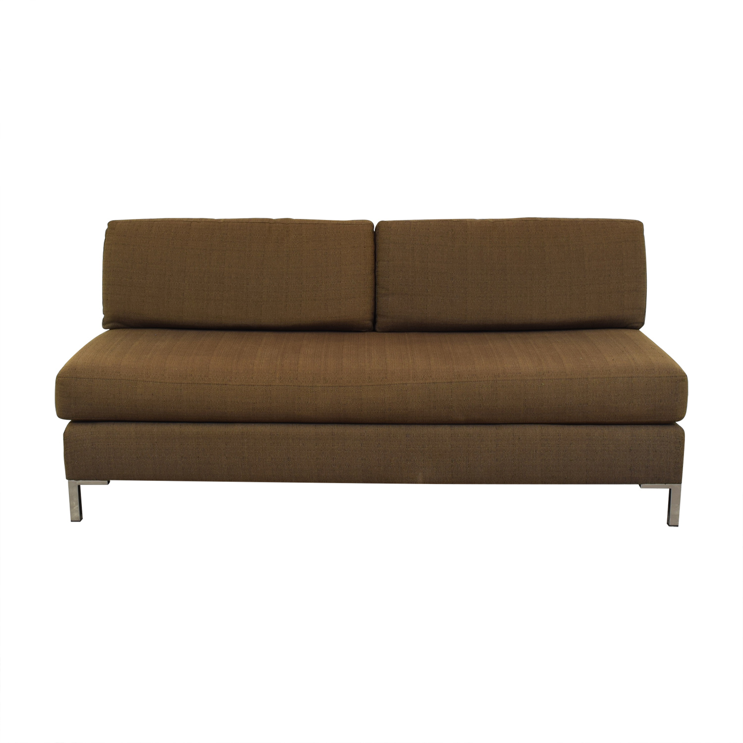 shop West Elm Armless Sofa West Elm Classic Sofas
