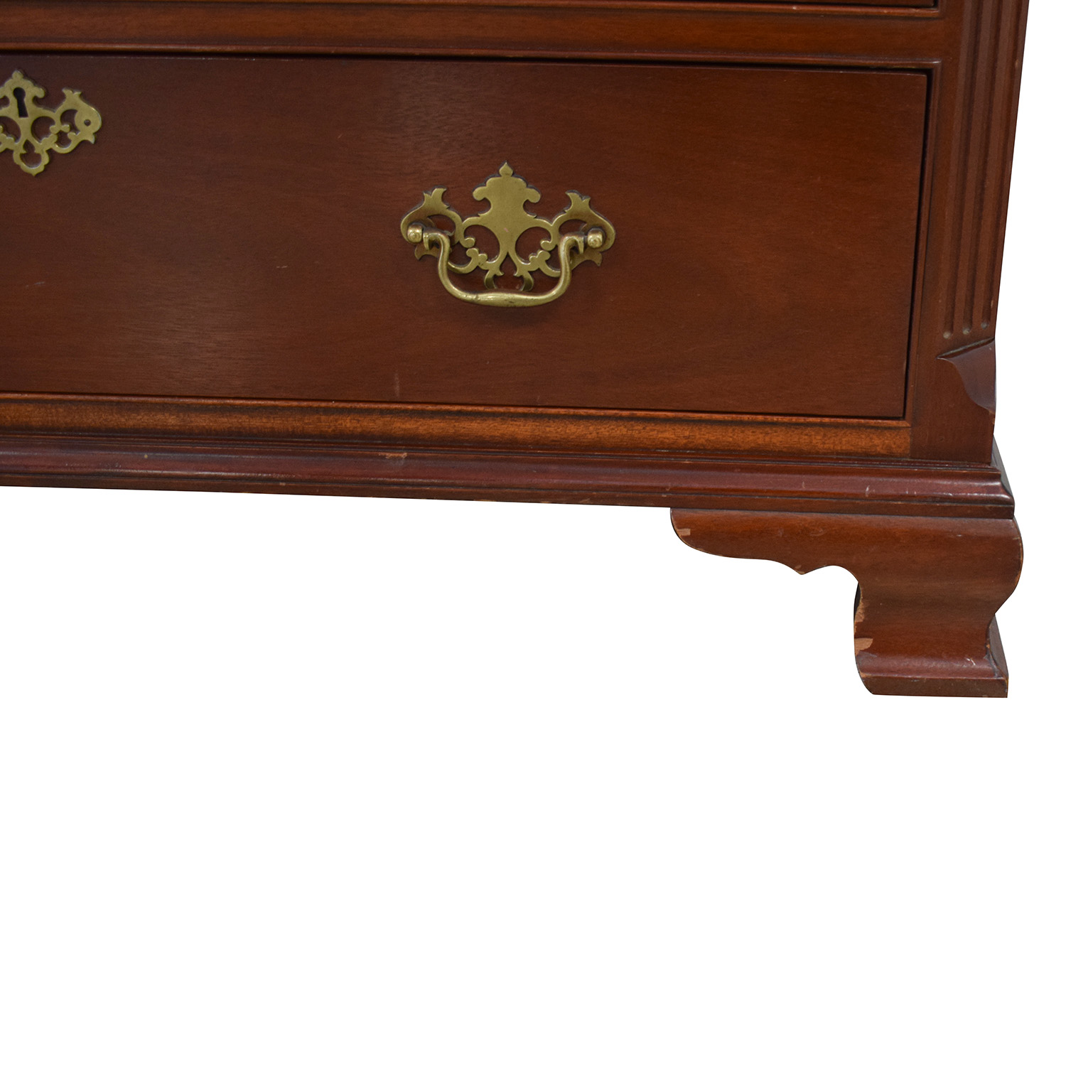 Baker Furniture Baker Antique Chest of Drawers brown