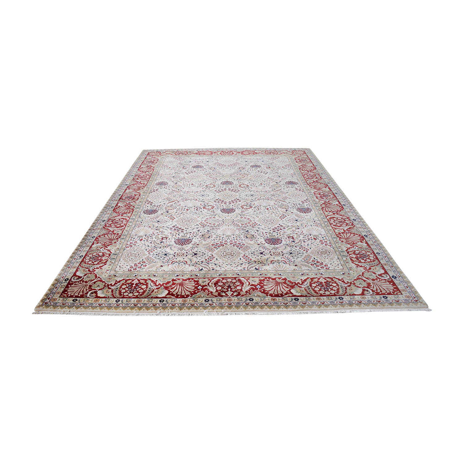 ABC Carpet & Home Indian Tabriz Rug / Decor
