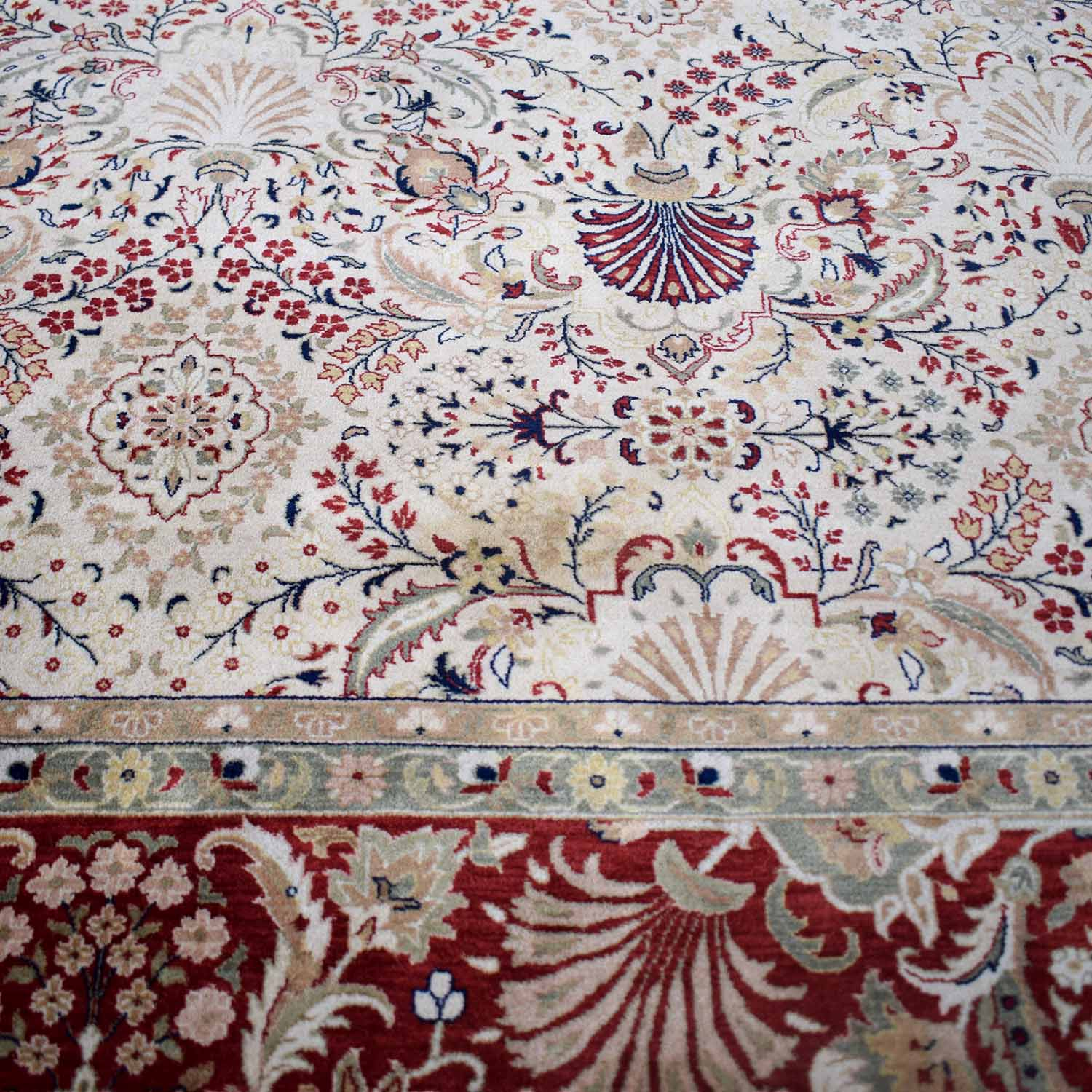 ABC Carpet & Home ABC Carpet & Home Indian Tabriz Rug second hand
