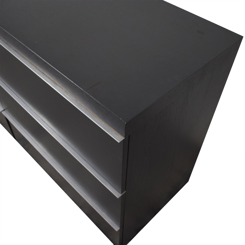 buy BoConcept BoConcept Black Six-Drawer Dresser online