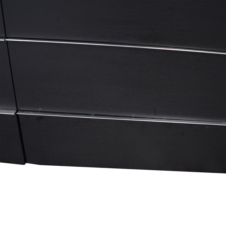 BoConcept BoConcept Black Six-Drawer Dresser used