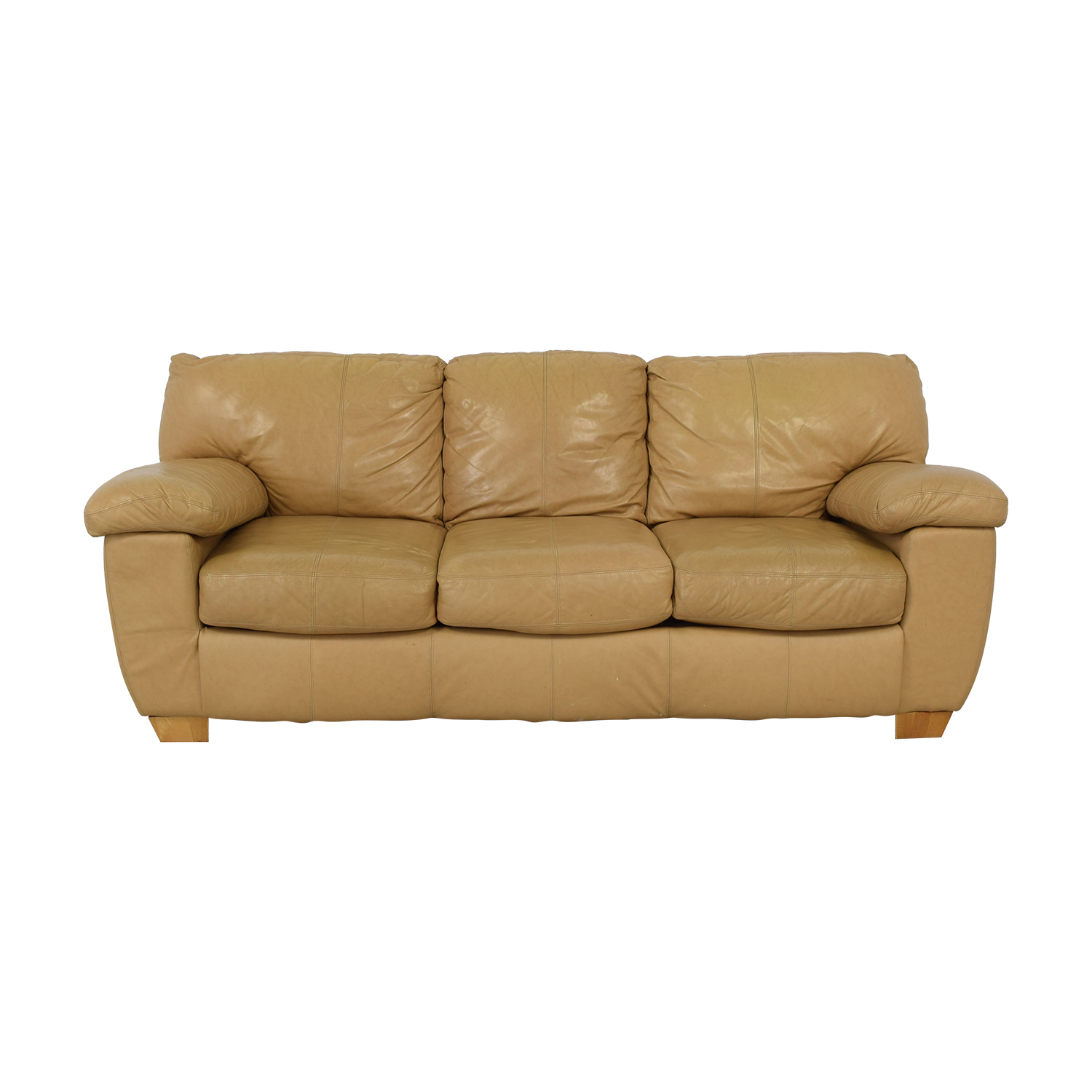shop Ashley Furniture Three Cushion Sofa Ashley Furniture Classic Sofas