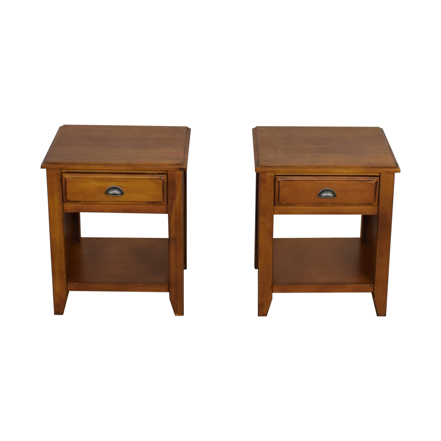 buy Pottery Barn Nightstand with Drawers Pottery Barn Tables