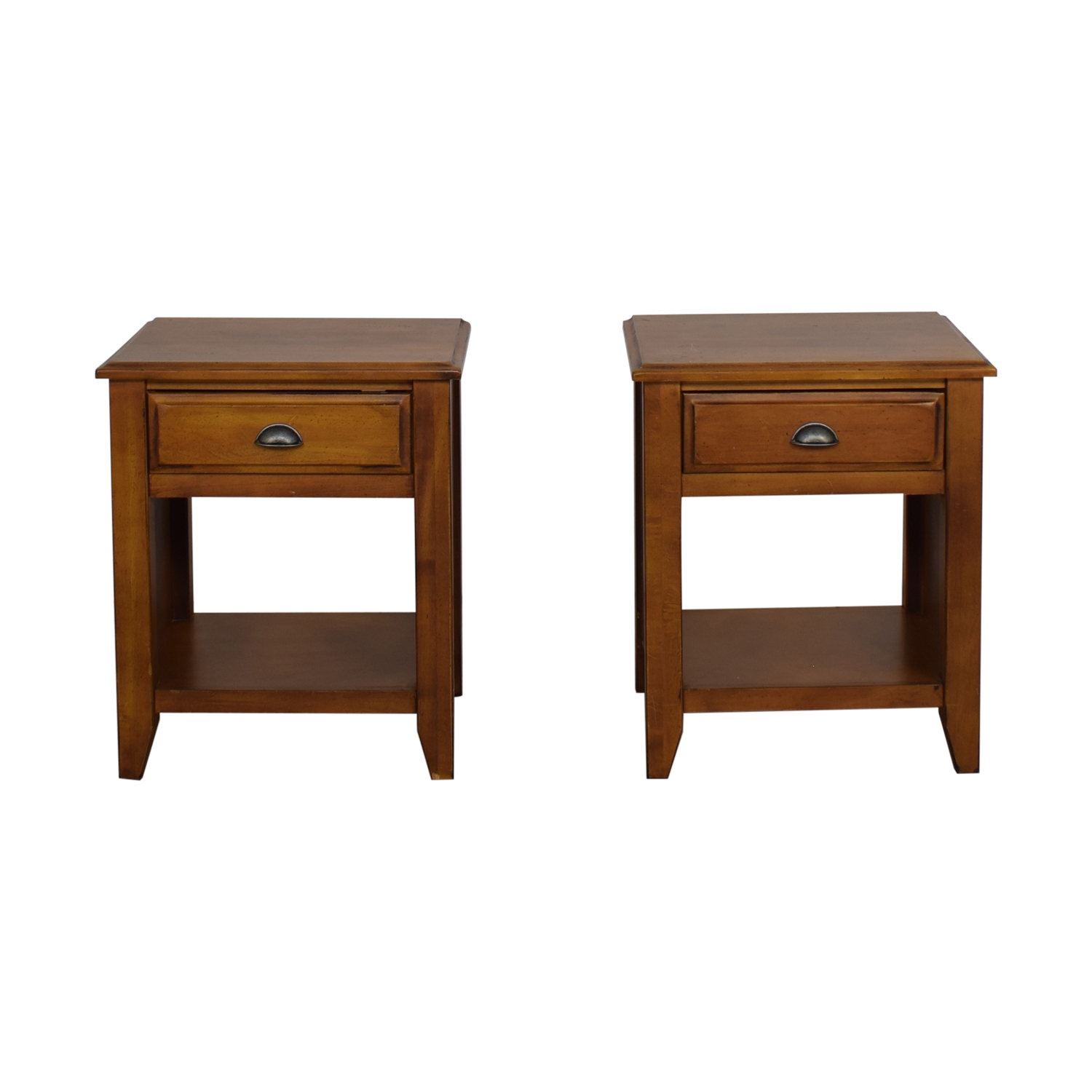 Pottery Barn Nightstand with Drawers / End Tables