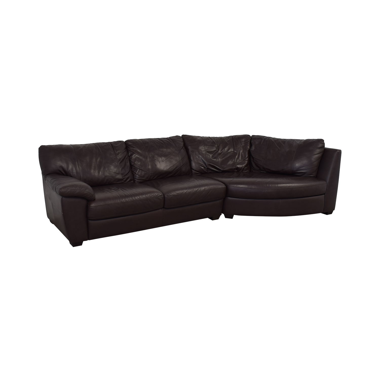 IKEA Three Cushion Wedge Sectional Sofa Sofas