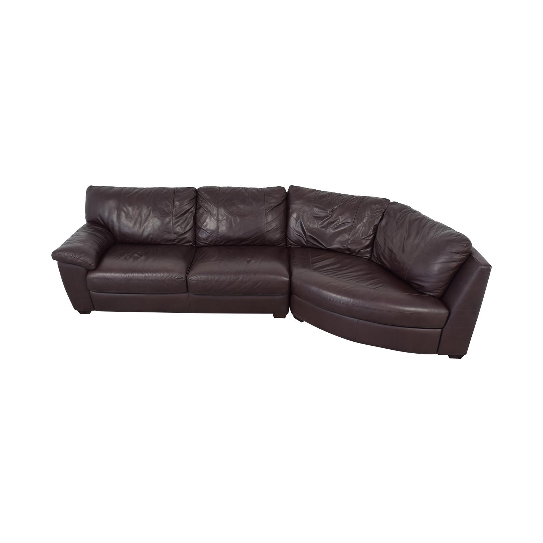 IKEA Three Cushion Wedge Sectional Sofa on sale